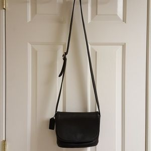 Coach leather flap bag vintage 1996